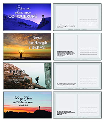 Devotional Bible Verse Postcards (48-Pack)