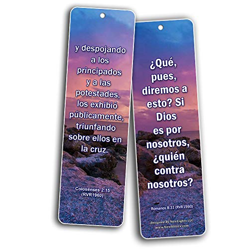 Spanish 12 Powerful Scriptures for Your War Room - RVR1960 (30-Pack)