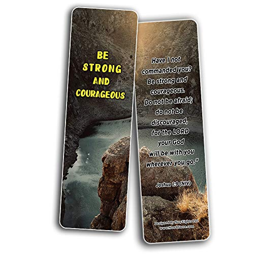 Stand Strong in Uncertain Times Bible Bookmarks (12-Pack)