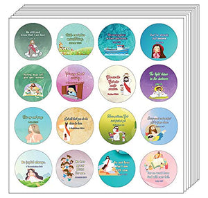 Religious Stickers for Kids (5-Sheet)