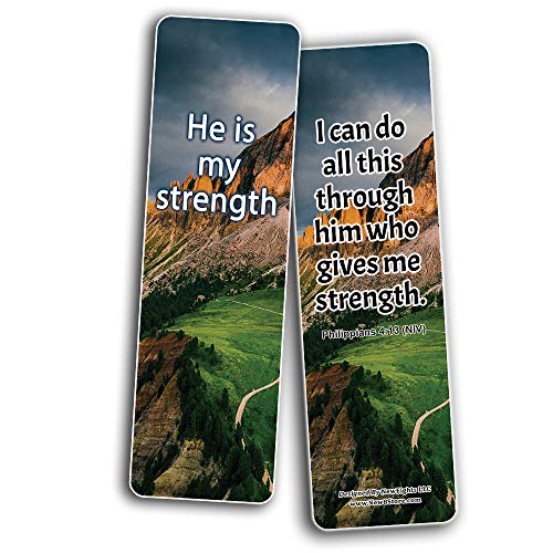 You are enough bible verse bookmarks (30-Pack)