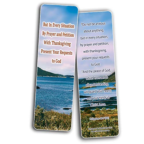 My God Is Stronger Than My Problems Bible Bookmarks