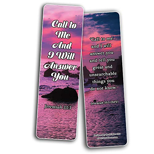 Favorite Prayer Bible Promises Bookmarks (30-Pack) - Handy Christian Daily Reminder