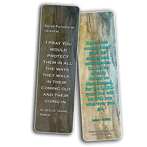 Prayers for Nations Bookmarks (60-Pack) - Perfect Giftaway for Sunday School and Ministries