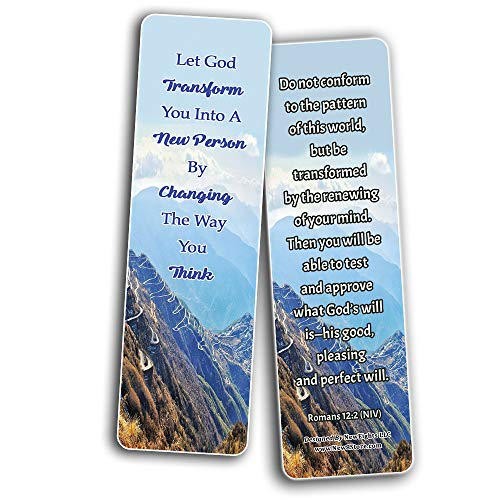How To Live An Intentional Life Memory Verses Bookmarks