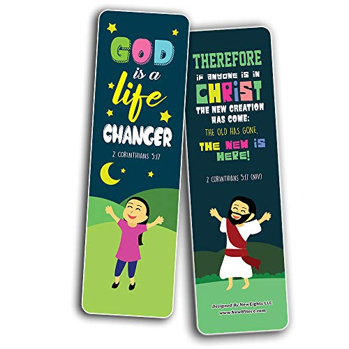 Top Bible Verses for God's Promises Bookmarks for Kids