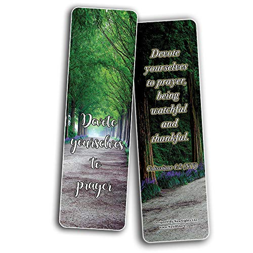 Secret To Powerful Prayer Memory Verses Bookmarks