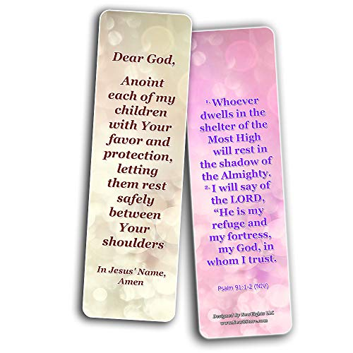 A Prayer For Our Children Bookmarks (60-Pack) - Perfect Giveaways for Sunday School, VBS and Children's Ministry