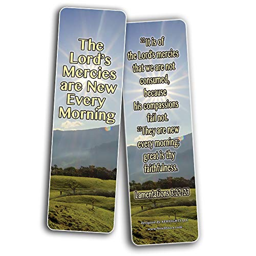 Scriptures Bookmarks - Friendship Bookmarks (KJV) (30-Pack) - Great Bible Text Compilation that is Handy and Easy To Bring Along With