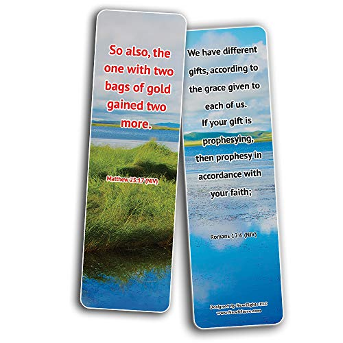 Consecrate Your Talents To The Lord Bible Bookmarks