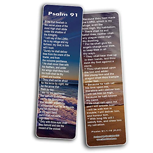 Psalm 91 Bookmarks KJV
