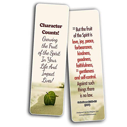 Powerful Bible Verses Bookmarks - Spiritual Growth (60-Pack) - Perfect Gift Idea for Friends and Loved Ones