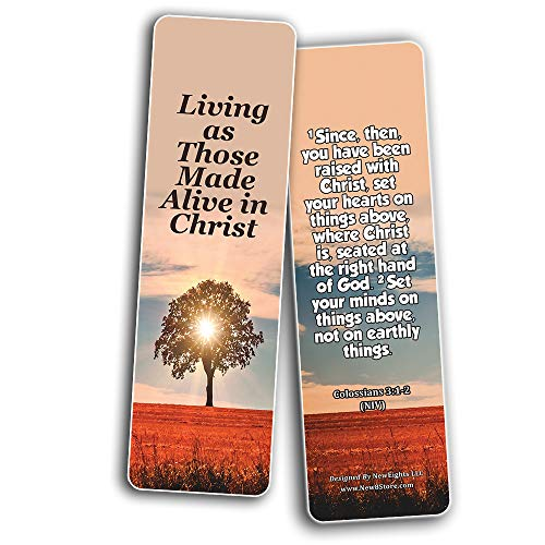 Hope Bible Verses Bookmarks (30 Pack) - Handy Powerful Bible Verses About Hope