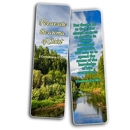Bible Verses about Victory NIV Bookmarks (30 Pack) - Handy Christian Daily Reminder