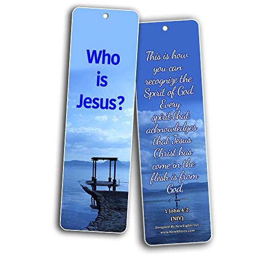 Spiritual Growth Bible Bookmarks (60 Pack) - Perfect Giftaway for Sunday School and Ministries