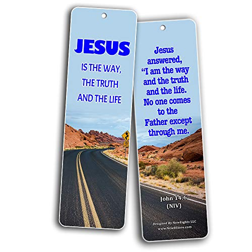 Bible Verses About Jesus Saves (30 Pack) - Handy Bible Texts About Being Saved Through Christ Jesus