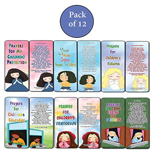 Encouraging Prayers During Difficult Time Bookmarks for Kids