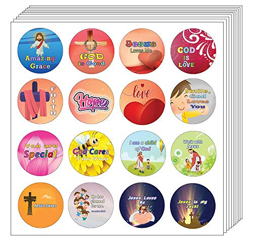 Amazing Grace Stickers (20 Sheets) - Motivational Stickers