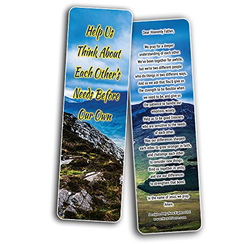 A Prayer for Couples Bookmarks (60-Pack)