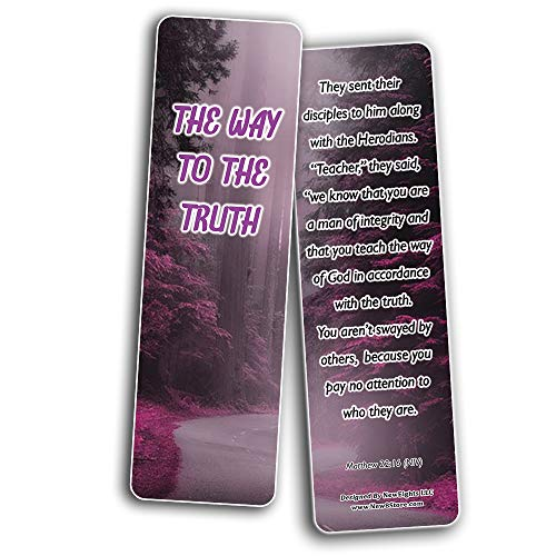 Have Your Way Lord Bible Bookmarks