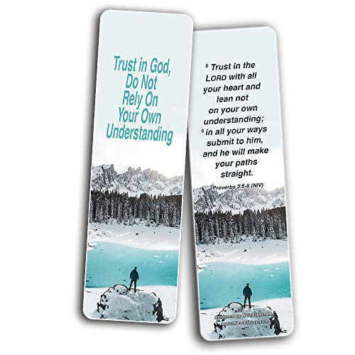 Christian Bookmarks for Biblical Encouraging Wisdom Words for Young Entrepreneurs (30 Pack) - Wisdom Bible Verses For Young Businessmen