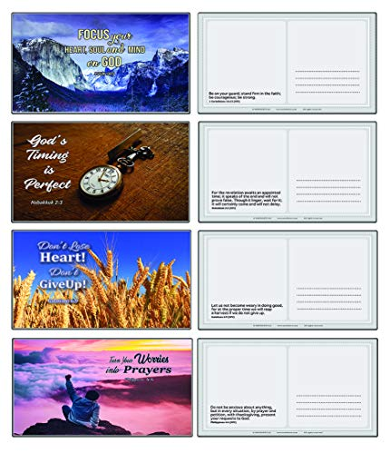 Devotional Bible Verse Postcards