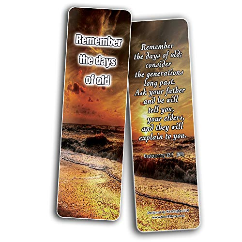 Popular Bible Verses for Senior Citizens Bookmarks