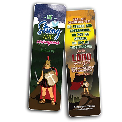Armor of God Bookmarks (30-Pack) - School Rewards - Christian Stocking Stuffers Birthday Party Favors Assorted Bulk Pack