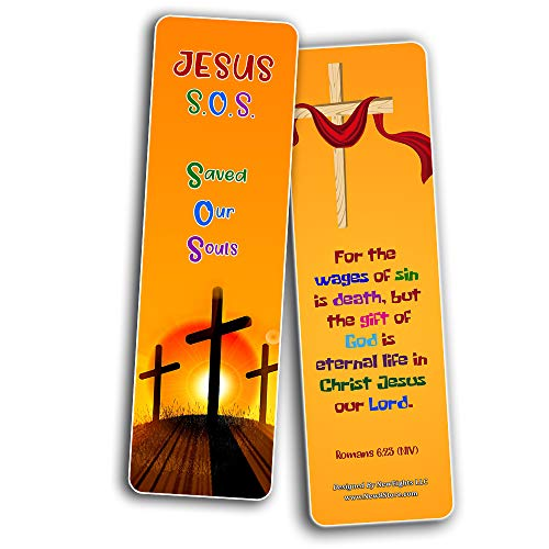 Christian Gospel Bookmarks for Kids