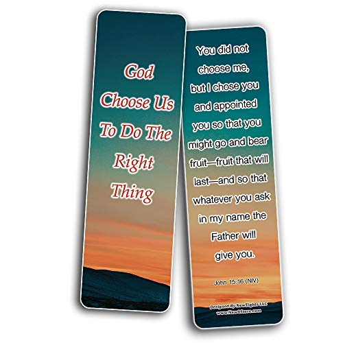 God Knows The Best For You Bible Bookmarks
