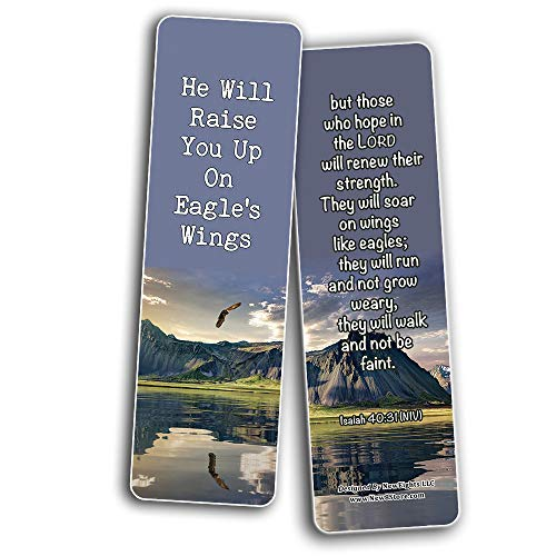 Learning To Trust In God's Timing Memory Verses Bookmarks (12-Pack)