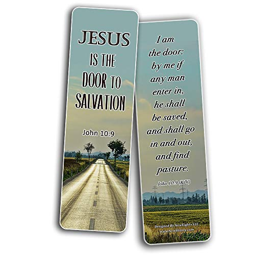 Jesus is the Way KJV Bookmarks Cards