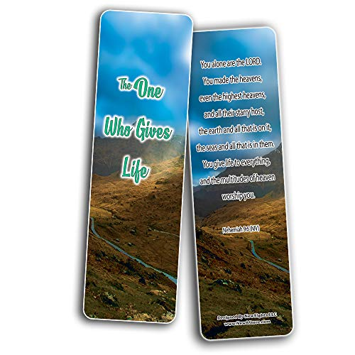 The Creator of Your Life Bible Bookmarks