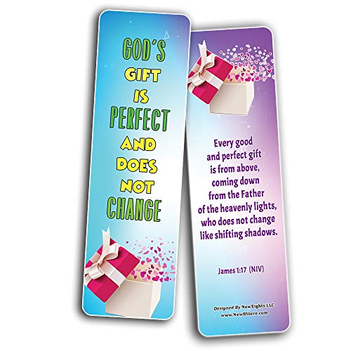 Popular Bible Verses about Eternal Life Salvation Bookmarks Cards