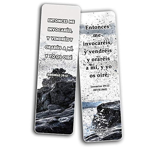 Spanish Favorite Prayer Bible Promises Bookmarks (60-Pack) - Great Giveaways for Ministries and Sunday Schools