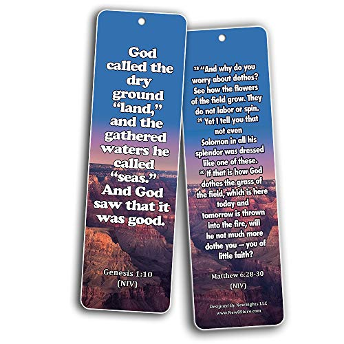 Powerful Bible Verses to Live By Bookmarks KJV (30-Pack)