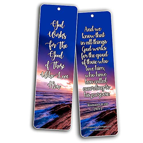 Top Bible Verses on God?s Blessing and Favor On Our Lives Bookmarks (30 Pack) - Handy Blessing Bible Texts That Are Easy To Bring Along With You