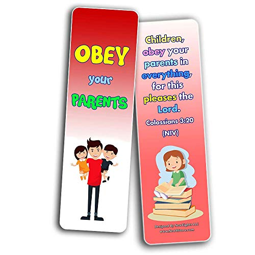 Bible Verses Every Kid Should Know Bookmarks (30-Pack)