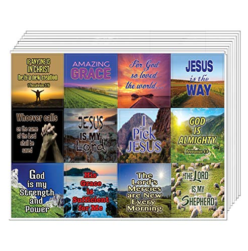 God is within Her Stickers (5-Sheet) - Great Variety Colorful Stickers