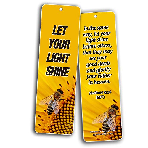Bible Verses About Stewardship Bookmarks (30 Pack) - Inspiring Stewardship Bible Verses That Are Worth Highlighting