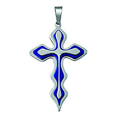 NewEights Blue Cross Necklace