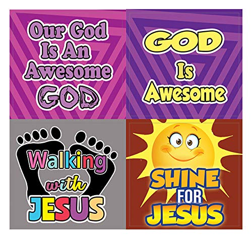 Awesome God Stickers for Kids