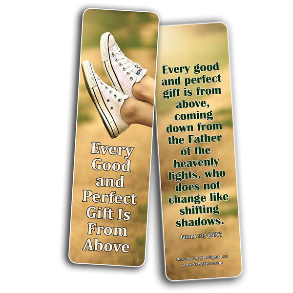 God is Good Bible Verses Bookmarks