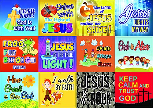 Shine for Jesus Stickers