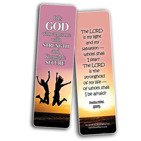 Devotional Bible Verses for Youth Bookmarks