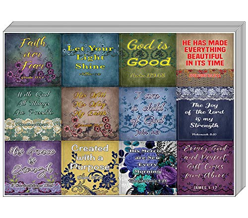Vintage Religious Stickers for Women Series 1 (10-Sheet) - Great Gift For Women
