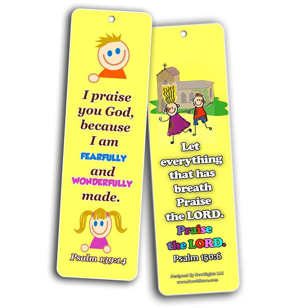 Powerful God Memory Verse Bookmarks