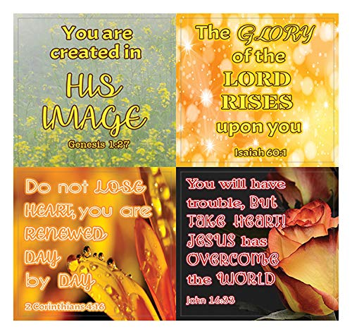 Christian Stickers for Women Series 3 (20 Sheets) - Assorted Mega Pack of Inspirational Stickers