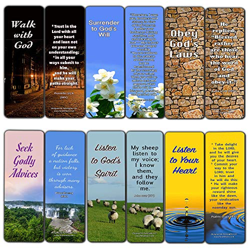 Keys to Knowing God?s Will For Your Life Bookmarks (30 Pack) - Bible Verses About God?s Grace and Love