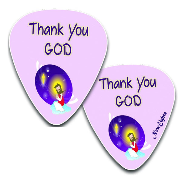 Christian Bible Verse Guitar Picks for Kids (12-pack)